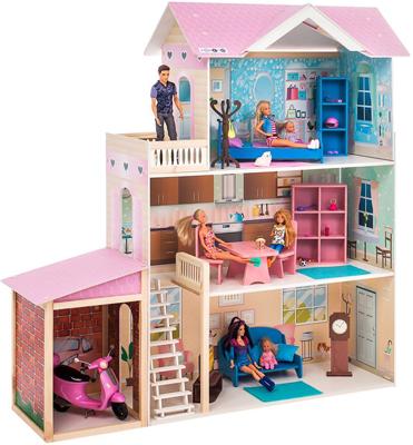 Кукольный дом Paremo Розали Гранд (с мебелью) PD 318-11 цена и фото