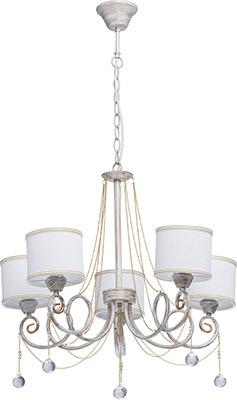 все цены на Люстра подвесная MW-light Виталина 448012405 5*40 W Е14 220 V онлайн