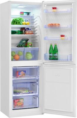 Двухкамерный холодильник NordFrost NRB 119 032 белый холодильник nord nrb 119 842 двухкамерный красное стекло [00000246087]