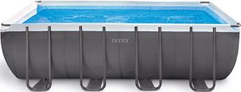 Бассейн Intex Ultra Frame 549х274х132 17203л 26356 intex бассейн каркасный ultra frame pool