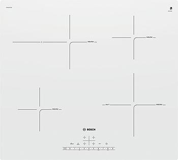 Встраиваемая электрическая варочная панель Bosch PUF 612 FC5E вентилятор polaris puf 1012s белый puf 1012s