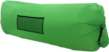 Лежак надувной Ламзак зеленый во3499 gangxun зеленый