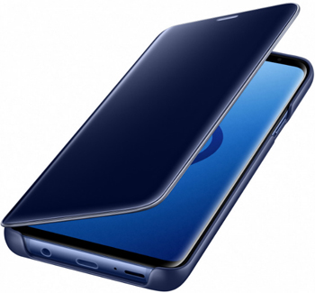 купить Чехол (флип-кейс) Samsung S9 (G 965) ClearView Standing blue EF-ZG 965 CLEGRU по цене 4990 рублей