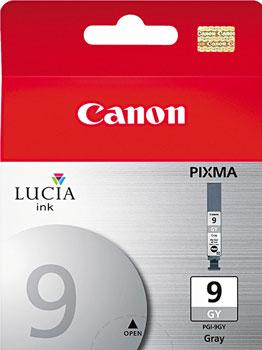 Фото - Картридж Canon PGI-9GY 1042 B 001 Серый calligrata пенал школьный эйфелева башня цвет серый 2873668