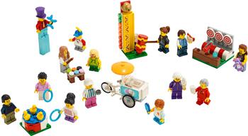 цена на Конструктор Lego City Town 60234 Комплект минифигурок «Весёлая ярмарка»