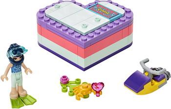 Конструктор Lego Friends 41385 Летняя шкатулка-сердечко для Эммы цена