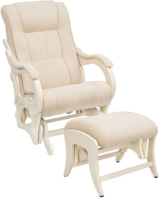 Комплект мебели Milli Style креслоипуф Дуб шампань ткань Verona Vanilla 4627159508568