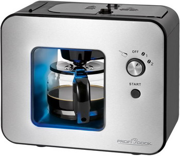 Кофеварка Profi Cook PC-KA 1152 кофеварка clatronic ka 3356 черный
