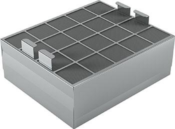 Угольный фильтр Bosch CleanAir с функцией регенерации комплект bosch cleanair для работы вытяжки в режиме циркуляции воздуха