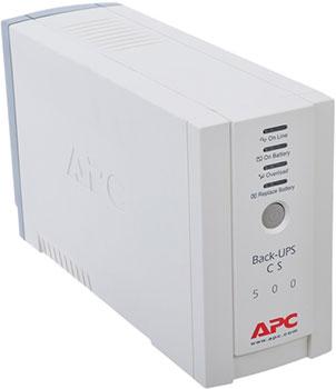 Источник бесперебойного питания APC Back-UPS BK500EI ибп apc bk500ei back ups cs 500va 300w