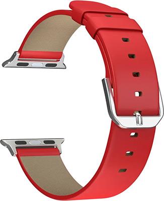 Ремешок для часов Lyambda для Apple Watch 42/44 mm MINTAKA DSP-14-44 Red ремешок для часов lyambda для apple watch 42 44 mm minkar dsp 10 44 black