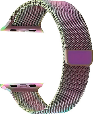 Ремешок для часов Lyambda Apple Watch 42/44 mm CAPELLA DS-APM02-44-SC Seven Color