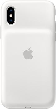 Чехол с аккумулятором Apple Smart Battery Case для iPhone XS белый цвет MRXL2ZM/A аксессуар чехол аккумулятор apple iphone 7 smart battery case black mn002zm a