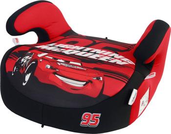 Автокресло Siger серия Disney Бустер гр. III Тачки 95 красный KRES2842