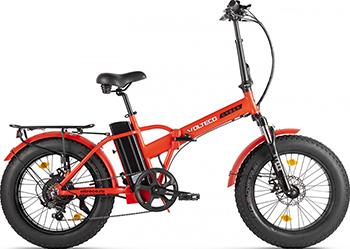 Велогибрид Eltreco VOLTECO CYBER красно-черный-2214 022303-2214 велогибрид kupper unicorn зелено черный