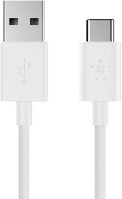 Фото - Кабель Belkin USB-C папа/USB-A папа 1 8м белый (F2CU032bt06-WHT) кабель питания для ноутбуков аудио видео техники gembird pc 184 2 1 8м 1 8м