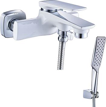 Смеситель для ванной комнаты Lemark Allegro LM5914CW для ванны