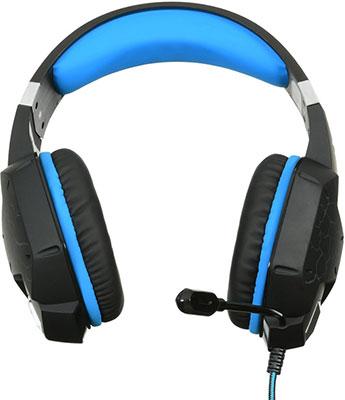 Игровая гарнитура Oklick HS-L930G SNORTER черный/синий (HS-L930G) игровая гарнитура oklick hs l930g snorter черный синий hs l930g
