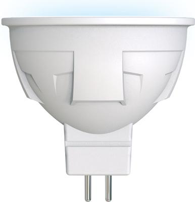 Лампа светодиодная Uniel LED-JCDR 6W/NW/GU5.3/FR PLP01WH Форма «JCDR» матовая (4000K) 002422