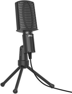 Фото - Микрофон настольный Ritmix RDM-125 Black микрофон проводной thomson m152 3м black