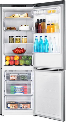 Двухкамерный холодильник Samsung RB 30 J 3000 SA цена
