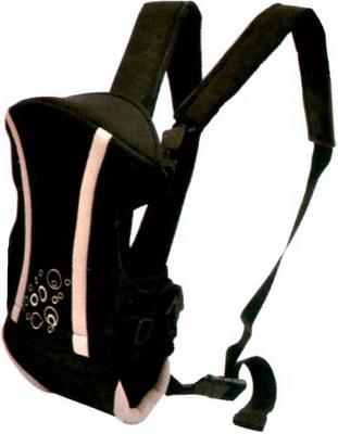 Рюкзак-кенгуру Baby Care 5015 Black
