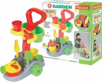 Фото - Набор для песочницы Полесье Садовник из 7 предметов полесье набор игрушек для песочницы 468 цвет в ассортименте