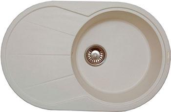Кухонная мойка LAVA E.3 (LATTE белый)