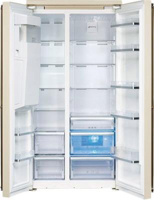 Холодильник Side by Side Smeg SBS 8004 PO цена и фото
