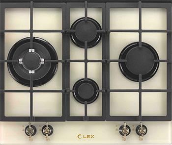 Встраиваемая газовая варочная панель Lex GVG 643 C IV