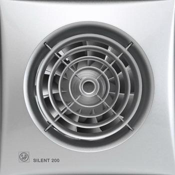 Вытяжной вентилятор Soler & Palau SILENT-200 CZ SILVER (серебро) 03-0103-109 цена в Москве и Питере