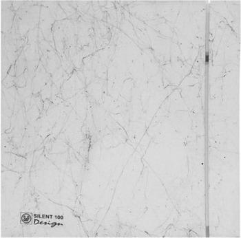 все цены на Вытяжной вентилятор Soler & Palau SILENT-100 CZ DESIGN-4C (белый мрамор) 03-0103-143 онлайн