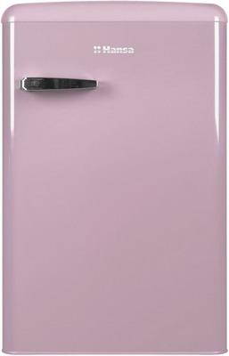 Однокамерный холодильник Hansa FM 1337.3 PAA розовый