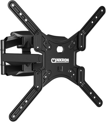Кронштейн для телевизоров ONKRON M5 чёрный кронштейн настенный onkron m5 32 60 накл 2° 10° поворот 140° до 36 4кг белый