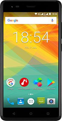 Смартфон Prestigio Grace R5 Dual SIM черный цена 2017