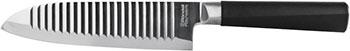Нож сантоку Rondell Flamberg RD-682 нож rondell flamberg rd 682 santoku 17 7 см
