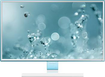 ЖК монитор Samsung S 24 E 391 HL (LS 24 E 391 HLO/RU) gl.WHITE цена и фото