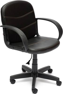 Офисное кресло Tetchair BAGGI (кож/зам черный 36-6) кресло офисное tetchair арзониа arzonia доступные цвета обивки искусств бежевая кожа