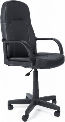 Кресло Tetchair PARMA (кож/зам Черный PU-C 36-6) кресло tetchair twister кож зам черный синий pu c 36 6 pu c 36 39