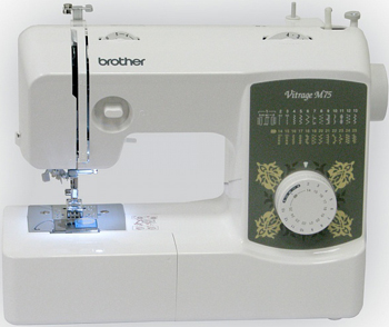 Швейная машина Brother Vitrage M 75 4977766749633 швейная машина brother vitrage m 77 4977766749640