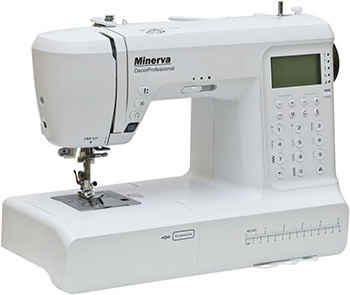 Швейная машина Minerva DecorProfessional M-DECH 50 E швейная машина minerva f 832 b