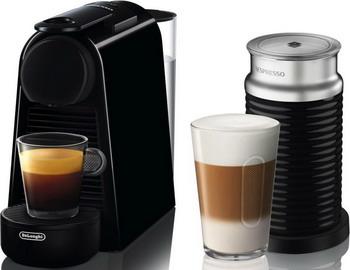 Кофемашина капсульная DeLonghi Nespresso Essenza Mini EN 85.BAE неактивный мини бар для 2 х напитков бензоколонка