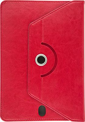 Универсальный чехол Red Line для планшетов с поворотным механизмом 10 дюймов красный