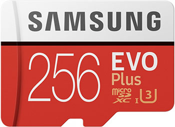 Фото - Карта памяти Samsung microSDXC 256Gb Class10 EVO+ с адаптером MB-MC256HA/RU samsung microsd evo plus 256gb mb mc256ha ru