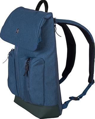 Рюкзак Victorinox Altmont Classic Flapover Laptop 15'' синий полиэфирная ткань 28x14x43 см 13 л 602145