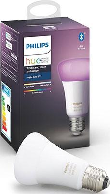 Лампа Philips Hue Single Bulb E27 Color (929002216824)