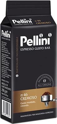 Кофе молотый Pellini Espresso CREMOSO №46 250гр (300920110)