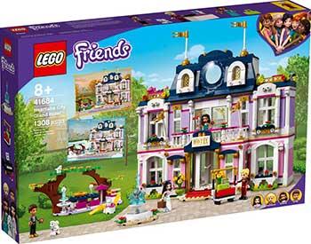 Конструктор Lego FRIENDS ''Гранд-отель Хартлейк Сити'' 41684