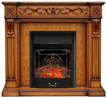 Каминокомплект Royal Flame Neapol с очагом Majestic Black дуб антик (64875075)