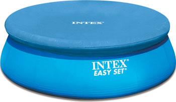 Тент Intex для надувного бассейна Easy Set 244см 28020 цена в Москве и Питере